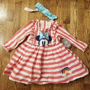 NWT 18-24 Month Disney Store Dress